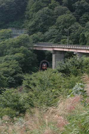 米坂線 小国町弁当沢