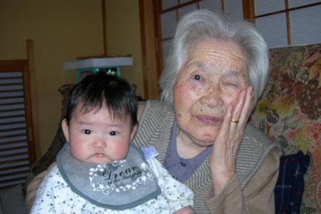 しゅりとばあちゃん