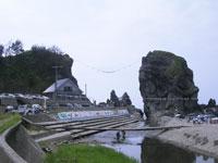 三瀬海岸の風景