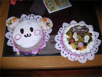 お母さんが作ったうーたんケーキ