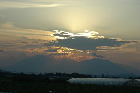 日光の山々