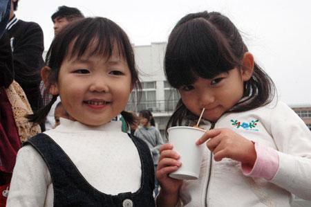 しゅり、幼稚園の親友と