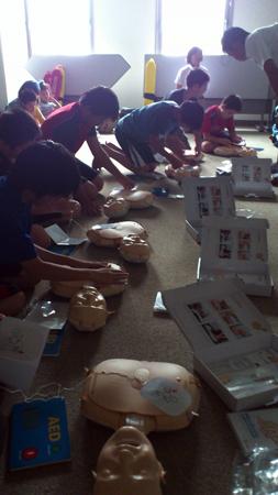 AEDの練習