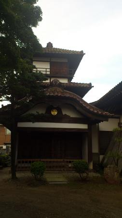 阿弥陀寺にある御三階
