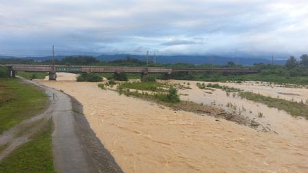 昨日の乱川