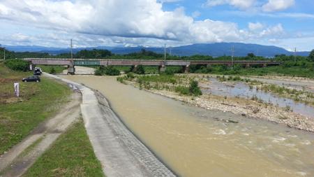 今日の乱川