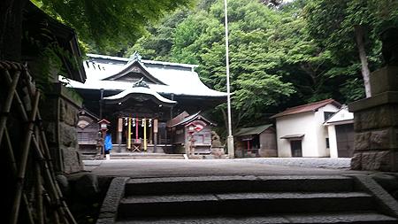 懸社温泉神社